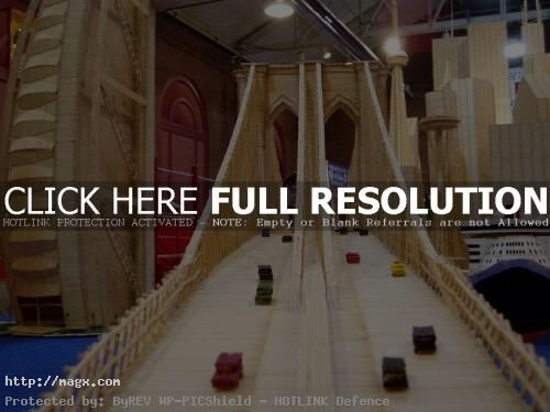10 Amazing Toothpicks City Art by Stan Munro