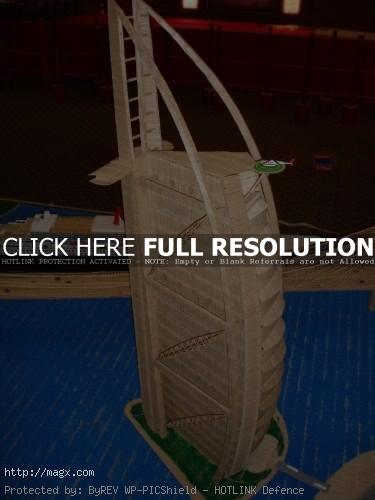3 Amazing Toothpicks City Art by Stan Munro