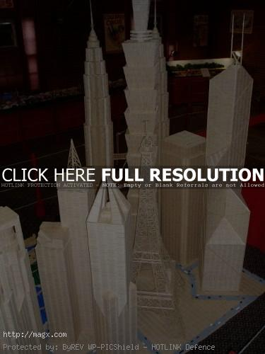 5 Amazing Toothpicks City Art by Stan Munro