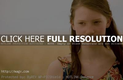 1 Mia Wasikowska is Alice in Wonderland 2010