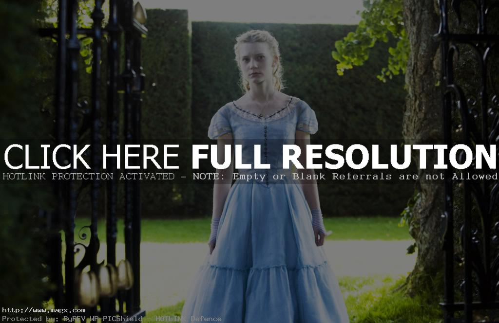 3 Mia Wasikowska is Alice in Wonderland 2010